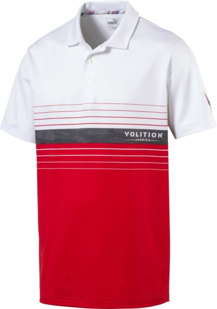 PUMA Men's Volition Horizon Golf Polo