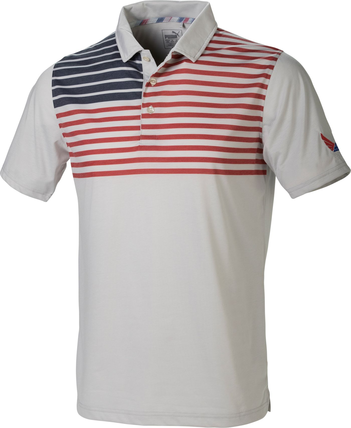 PUMA Men's Volition Patriot Golf Polo