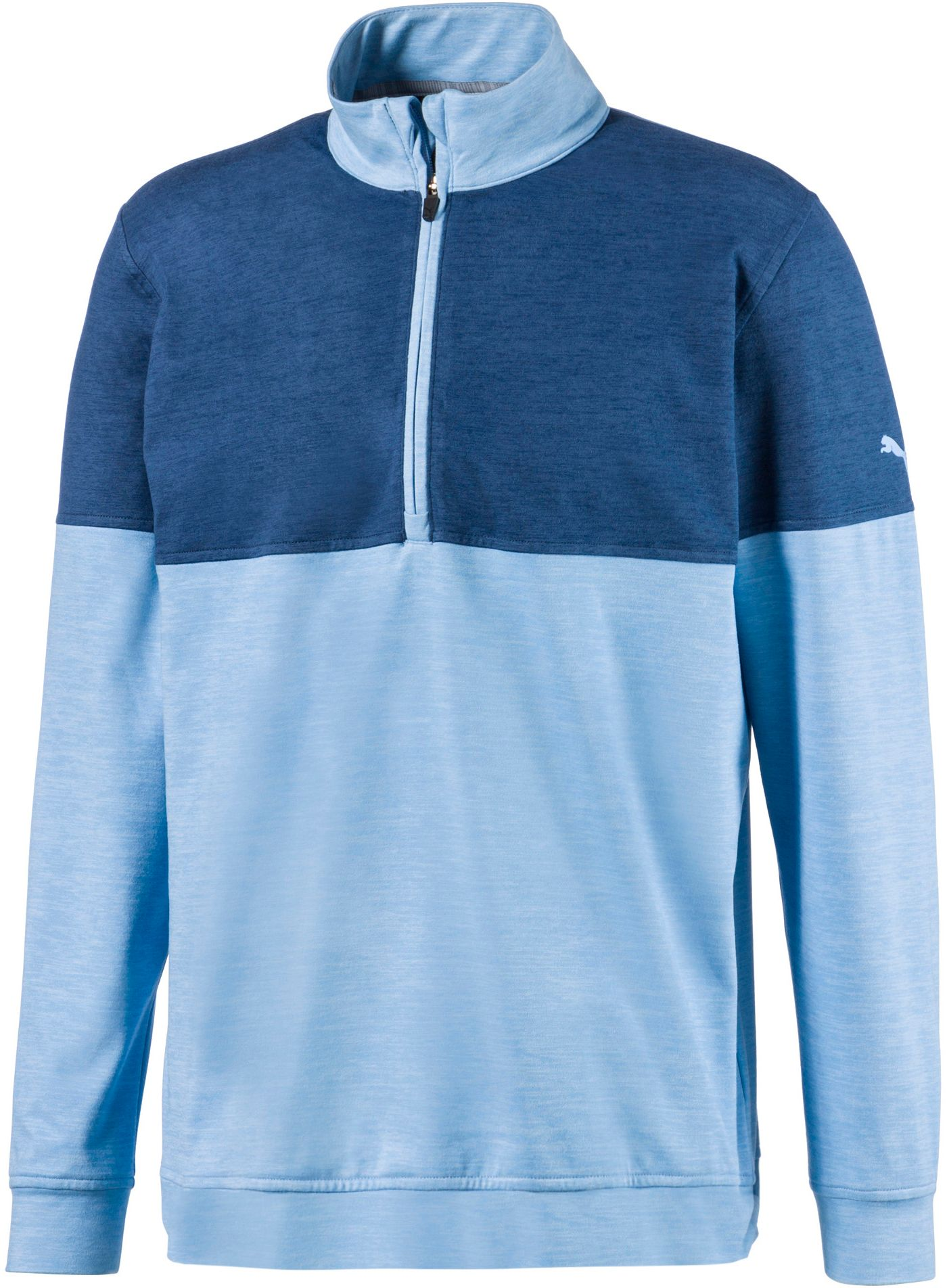 PUMA Men's Warm Up ¼ Zip Golf Pullover