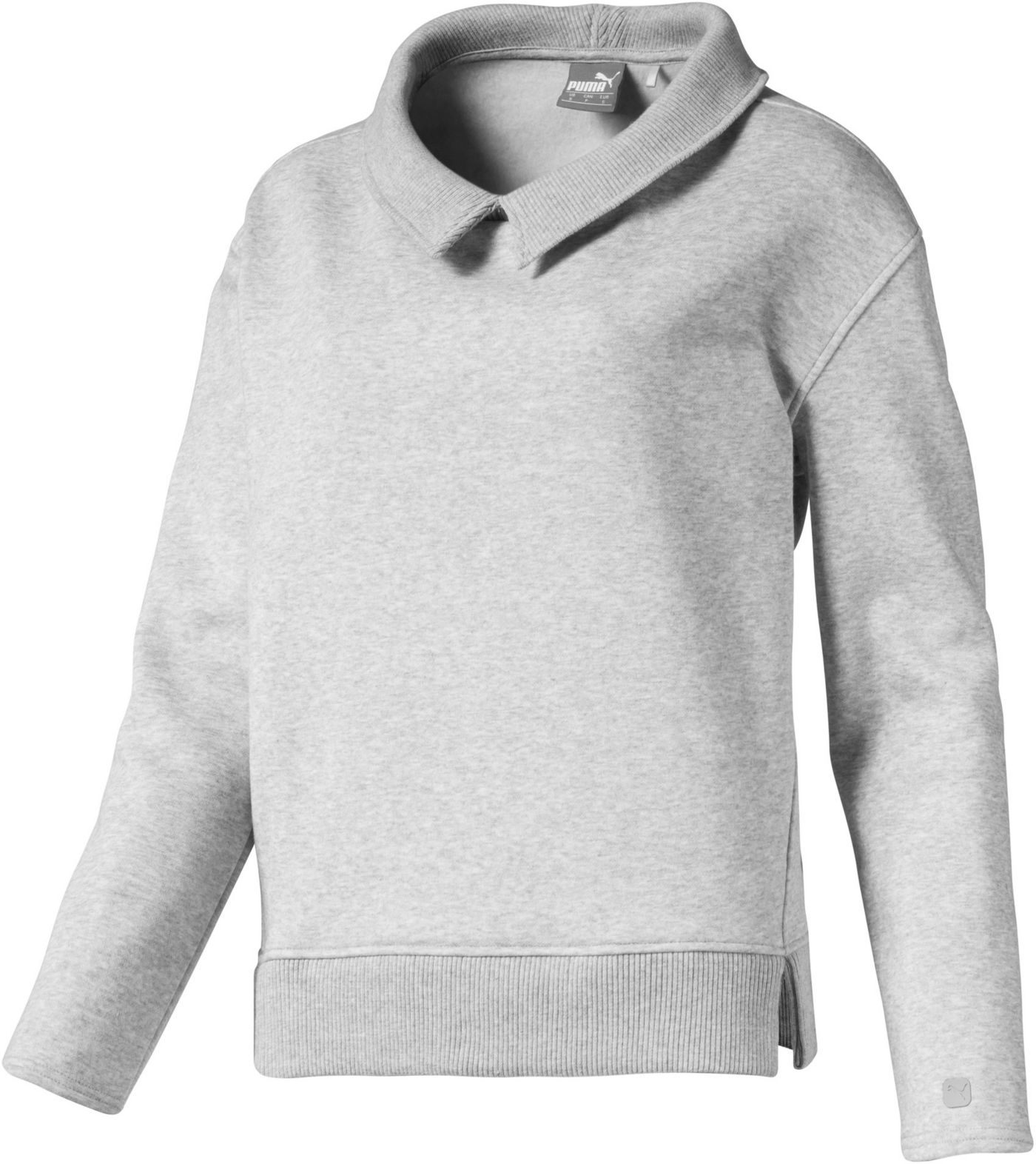 PUMA Women's Cozy Fleece Golf Pullover