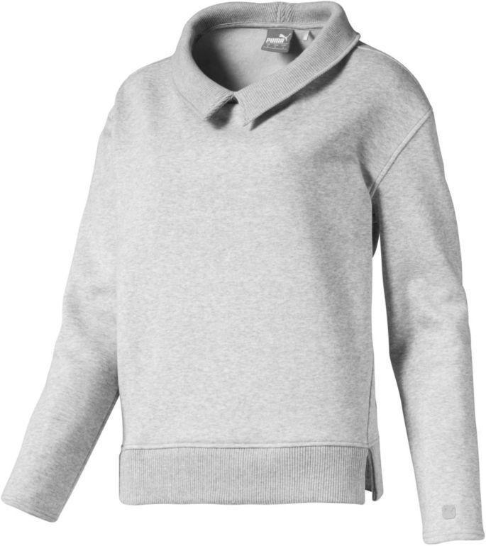 Puma Women's Cozy Golf Pullover, Size: XL, Gray | Golf