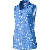 PUMA Women's Flower Sleeveless Golf Polo