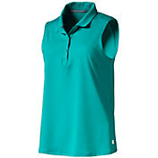 PUMA Women's Flow Sleeveless Golf Polo