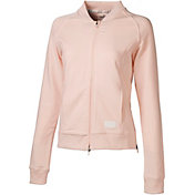 PUMA Women's Bomber Full-Zip Golf Jacket