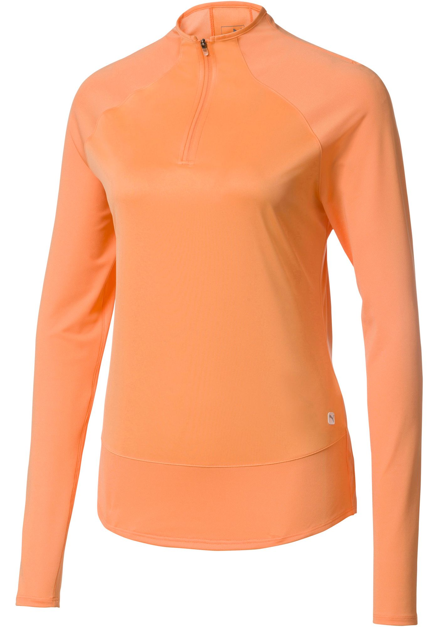 PUMA Women's Mesh ¼-Zip Golf Pullover