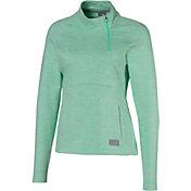 PUMA Women's Warm Up ¼-Zip Golf Pullover