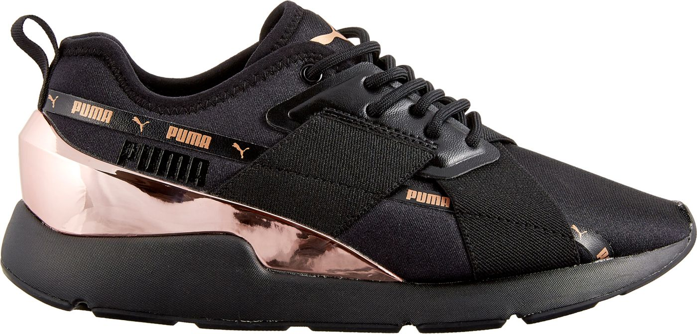 PUMA Women's Muse X-2 Metallic Shoes