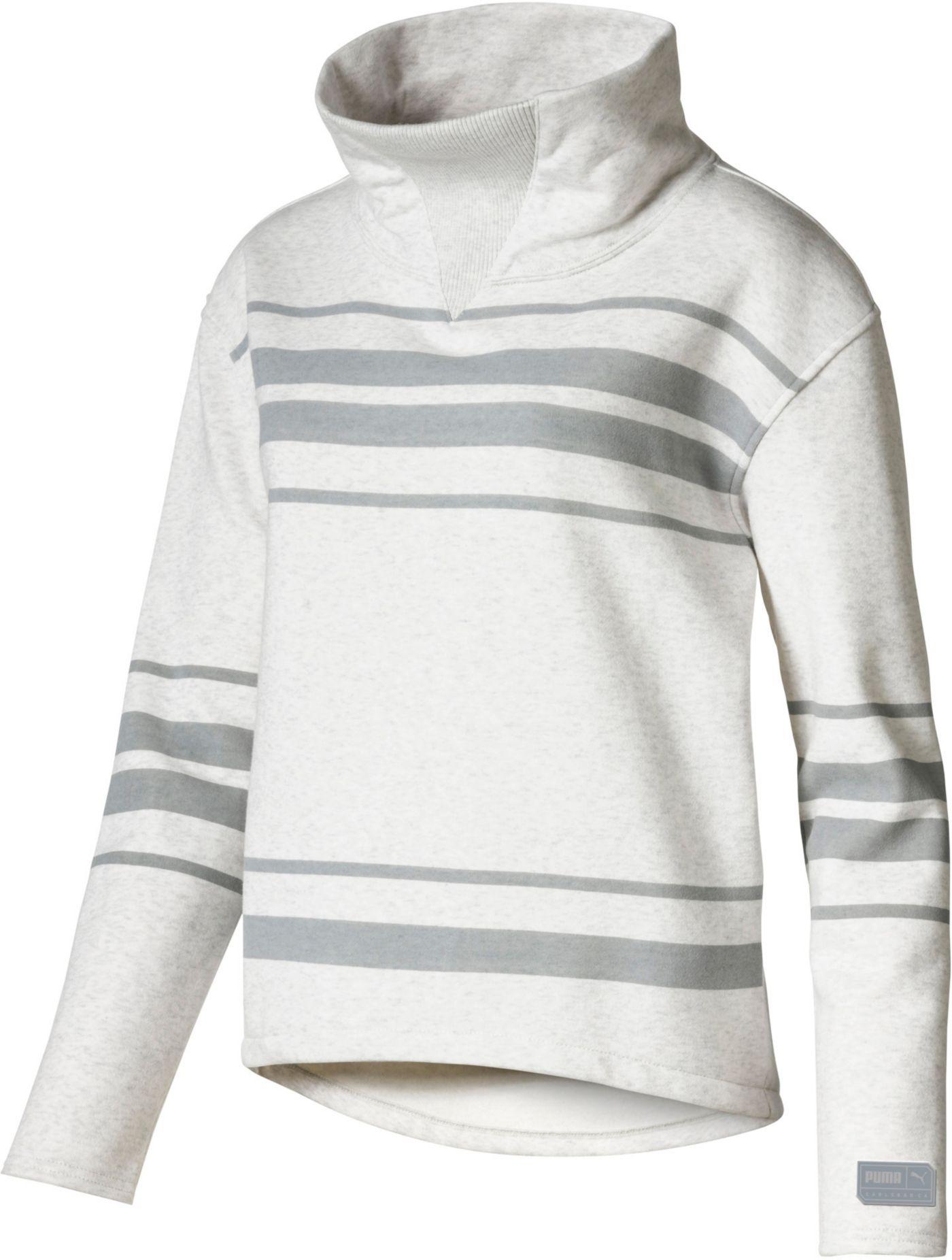 PUMA Women's Slouchy Fleece Golf Pullover