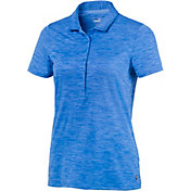 PUMA Women's Daily Short Sleeve Golf Polo
