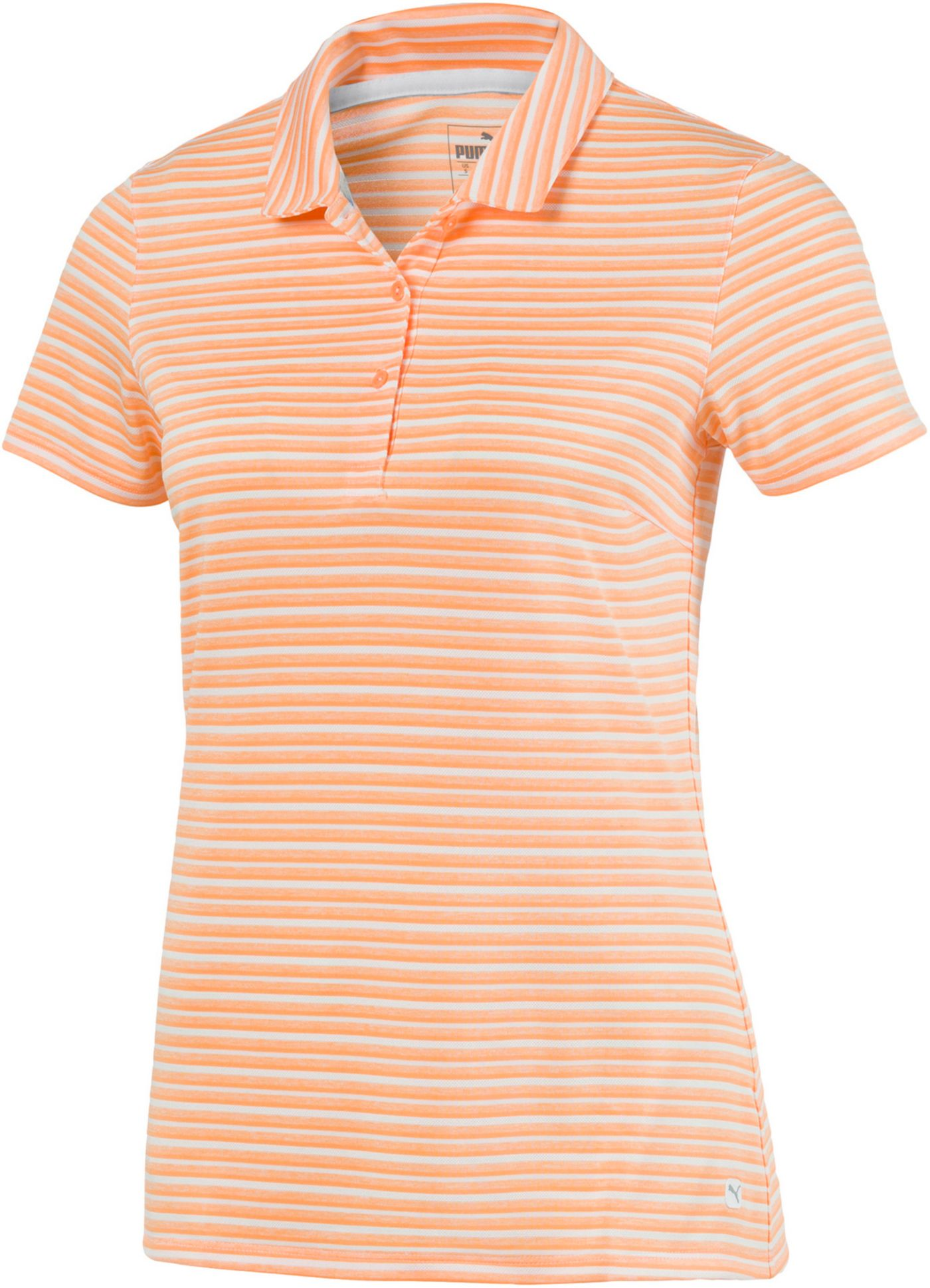 PUMA Women's Links Short Sleeve Golf Polo