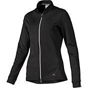 PUMA Women's Full Zip Knit Golf Jacket