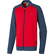 PUMA Boys' Full Zip Golf Jacket
