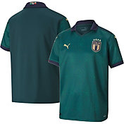 PUMA Youth Italy '19 Stadium Home Replica Jersey