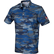 PUMA Boys' Volition Camo Golf Polo