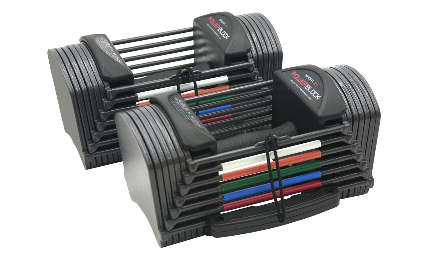 PowerBlock Sport 24 Adjustable Dumbbell System