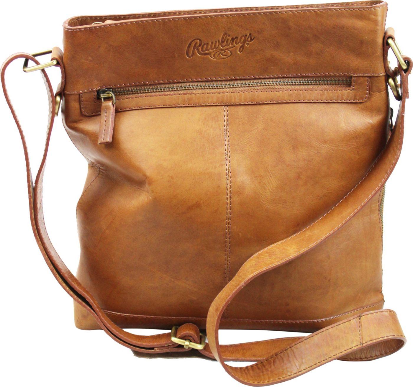 Rawlings Large Leather Crossbody Bag