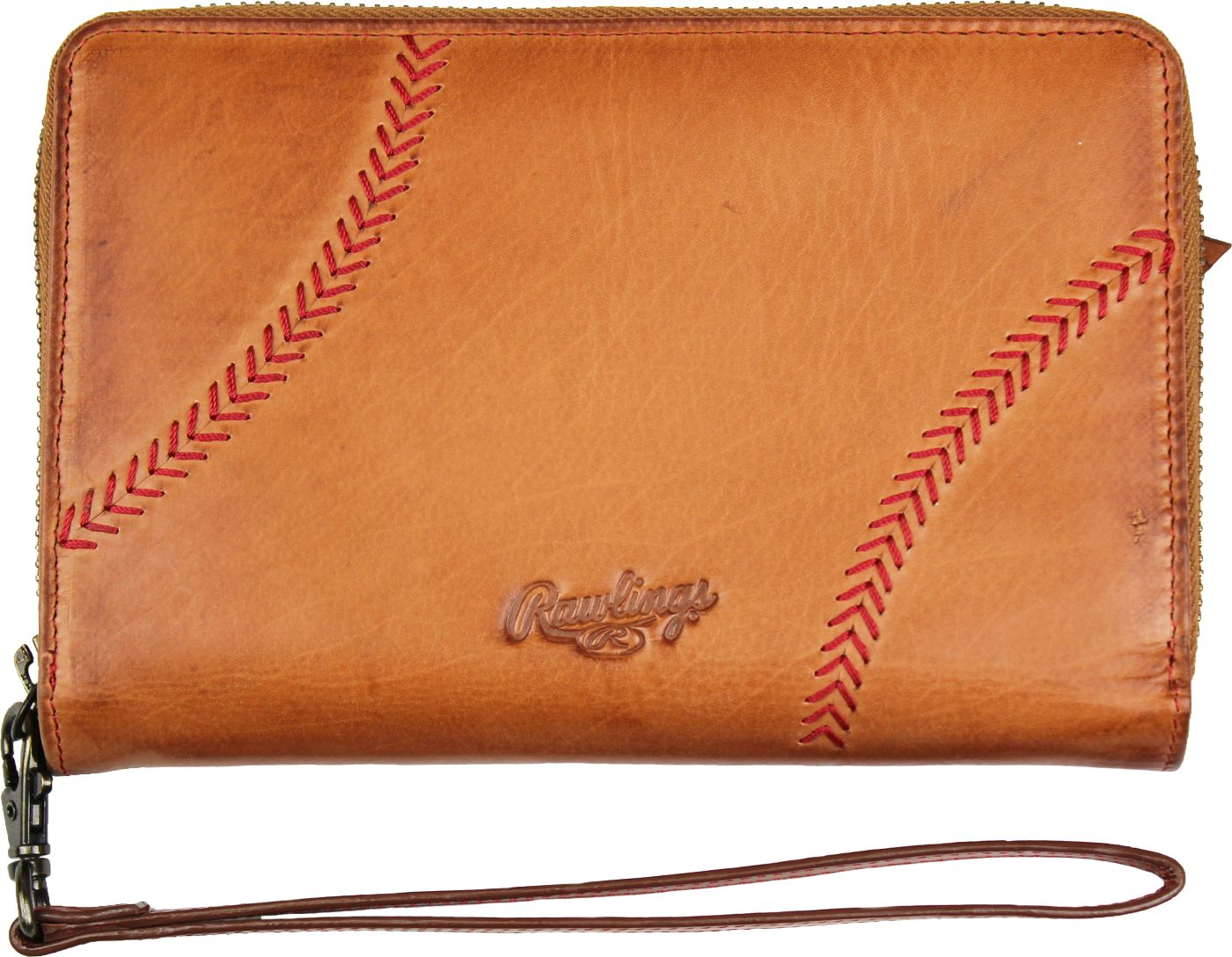 Rawlings Phone Zip Leather Wallet