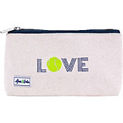 Ame & Lulu Women's Icon Brush It Off Tennis Cosmetic Case