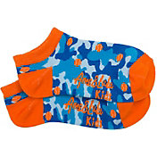 Ame & Lulu Girls' Happy Feet Tennis Socks