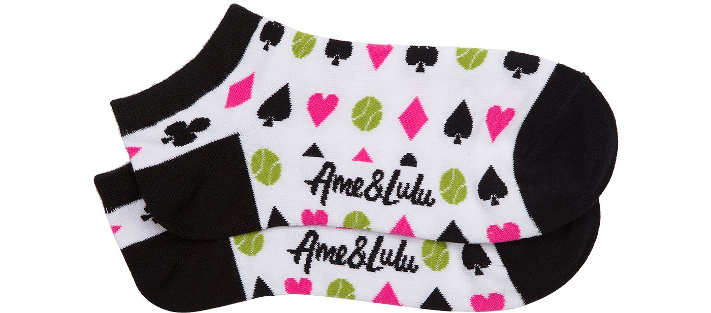 Ame & Lulu Women's Meet Your Match Tennis Socks