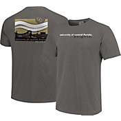 Image One Men's UCF Knights Grey Campus Scene Waves T-Shirt