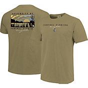 Image One Men's UCF Knights Tan River Scene T-Shirt