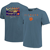 Image One Men's Clemson Tigers Blue River Scene T-Shirt