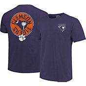 Image One Men's Clemson Tigers Regalia State Flag Circle T-Shirt