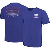 Image One Men's Florida Gators Blue Football T-Shirt