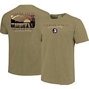 Image One Men's Florida State Seminoles Tan River Scene T-Shirt