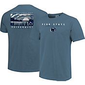 Image One Men's Penn State Nittany Lions Blue River Scene T-Shirt