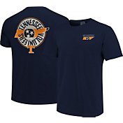 Image One Men's Tennessee Volunteers Blue State Flag Circle T-Shirt