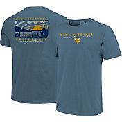 Image One Men's West Virginia Mountaineers Blue River Scene T-Shirt