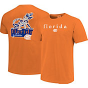 Image One Women's Florida Gators Orange Bar Script T-Shirt