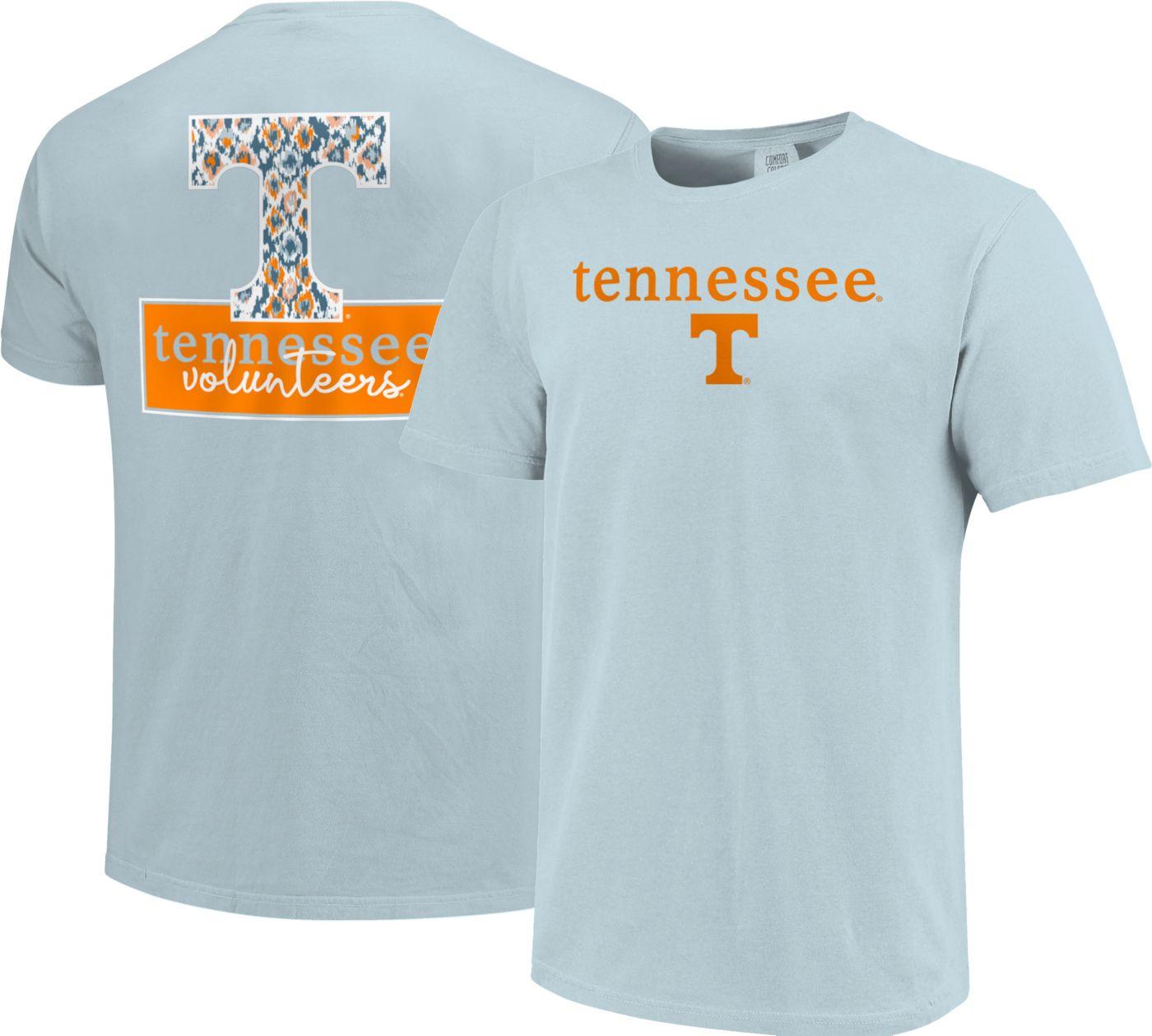 Image One Women's Tennessee Volunteers Light Blue Bar Script T-Shirt