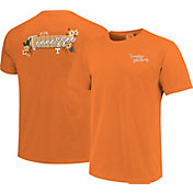 Image One Women's Tennessee Volunteers Tennessee Orange Floral State T-Shirt
