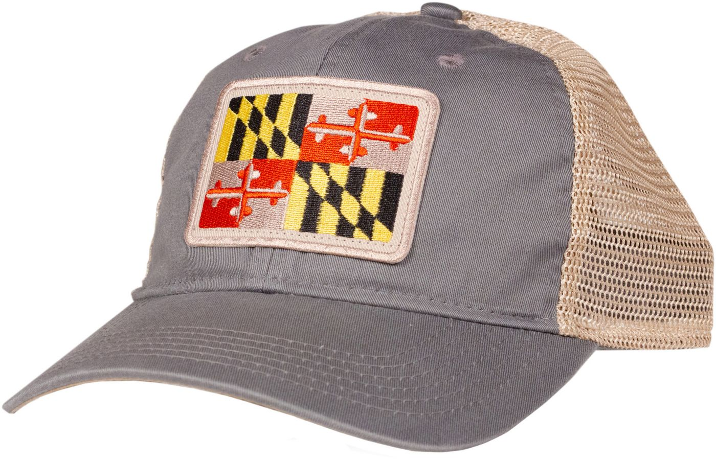Home State Apparel Adult Maryland State Flag Trucker Hat