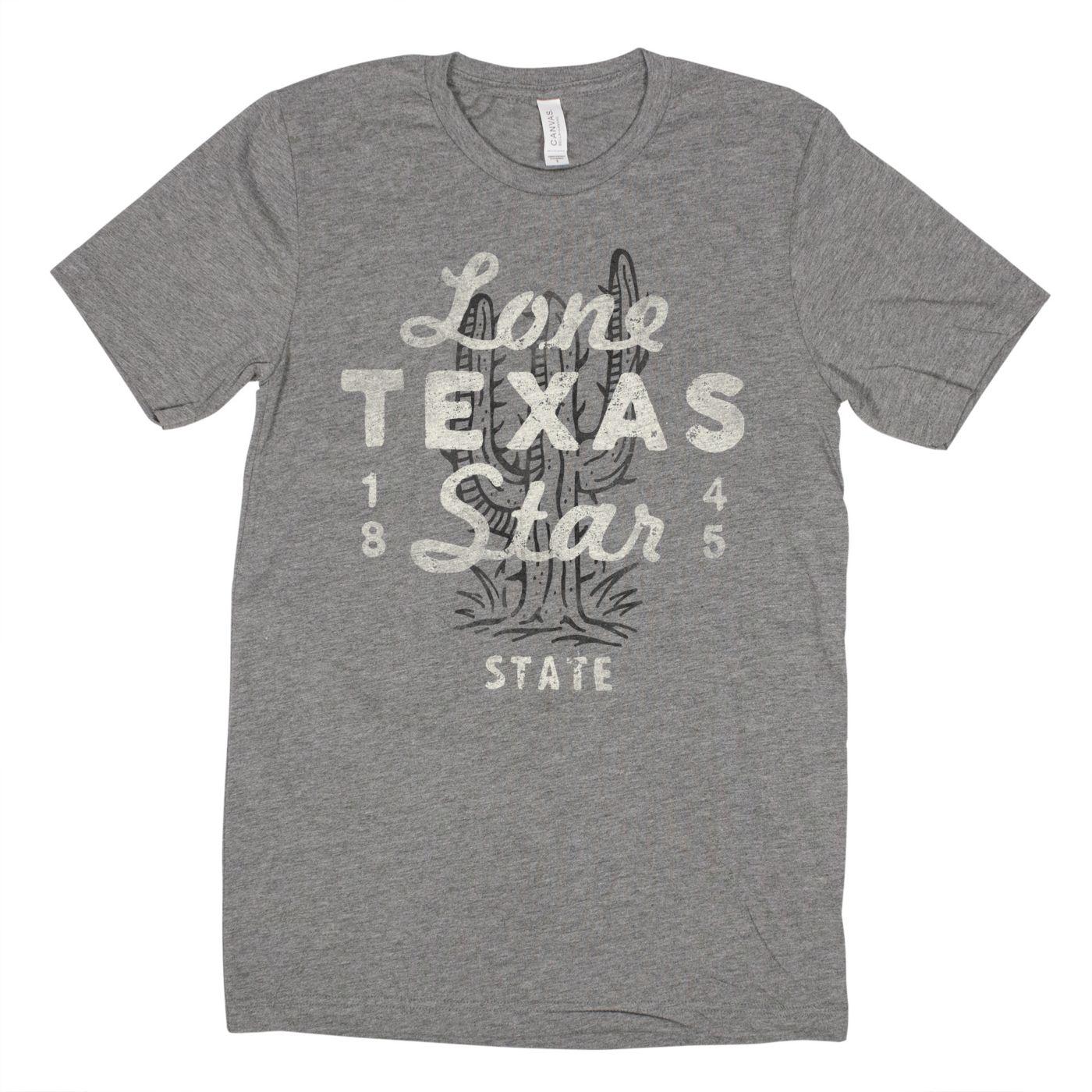 Home State Apparel Men's Lone Star Texas Short Sleeve T-Shirt