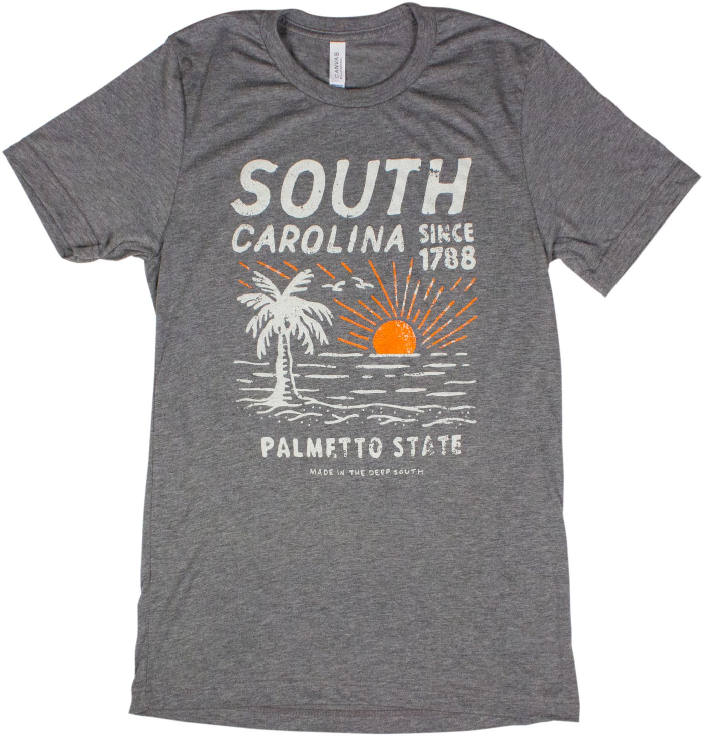 Home State Apparel Men's South Carolina Since 1788 Short Sleeve T-Shirt