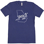 Home State Apparel Women's Georgia Freehand Short Sleeve T-Shirt