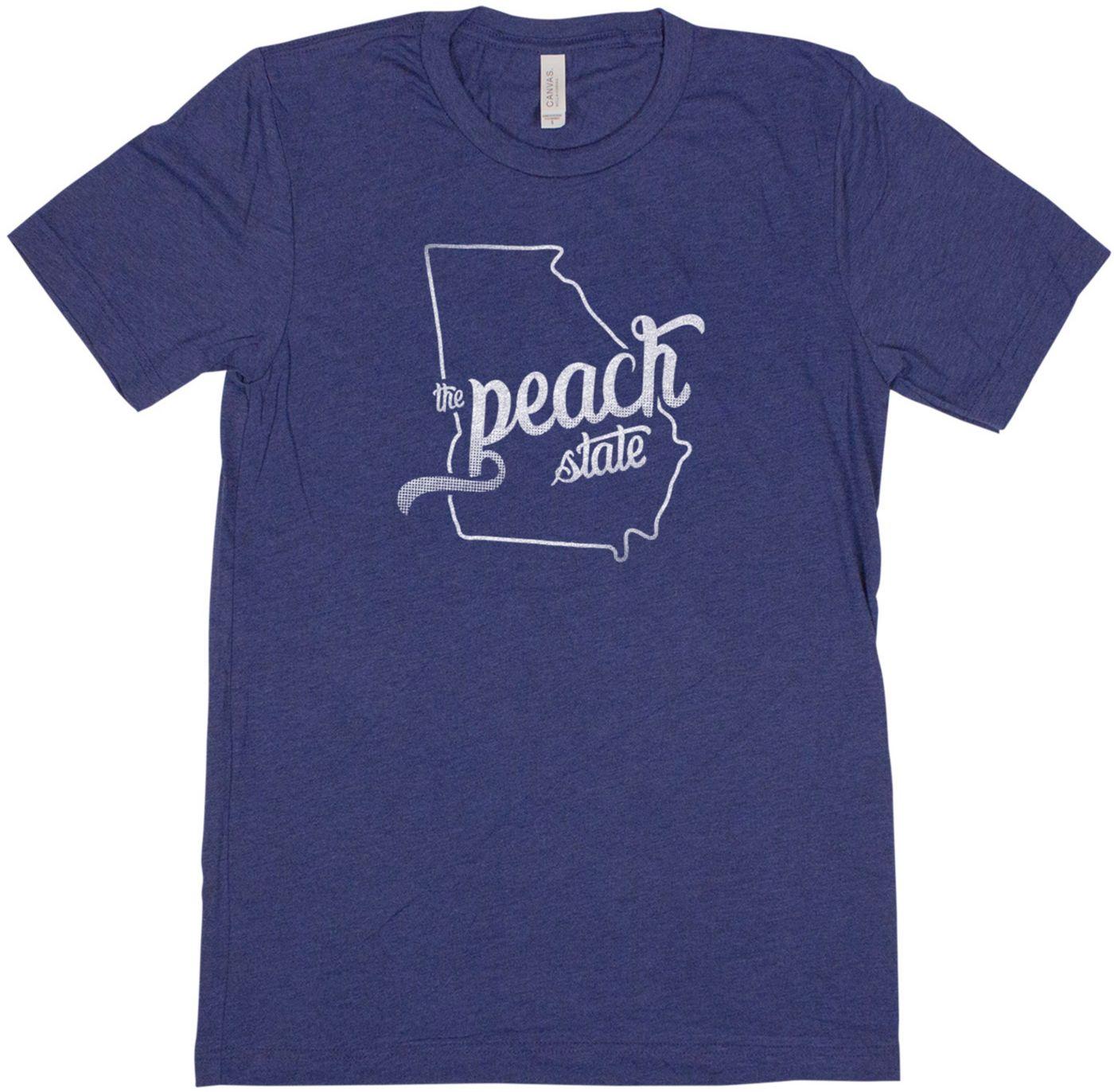 Home State Apparel Women's Georgia Freehand Short Sleeve T-Shirt