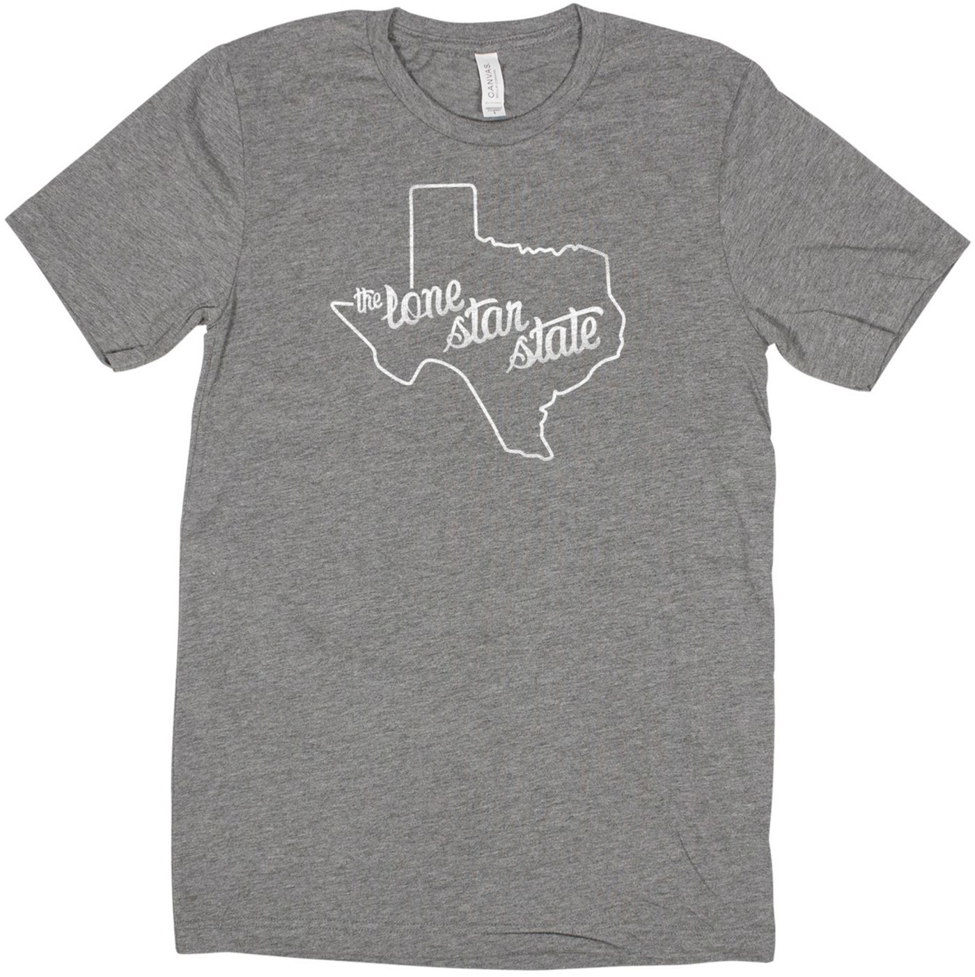 Home State Apparel Women's Texas Freehand Short Sleeve T-Shirt