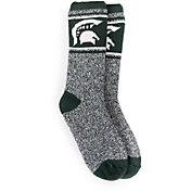 MUK LUKS Game Day Men's Michigan State Spartans Thermal Socks