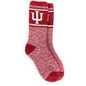 MUK LUKS Game Day Men's Indiana Hoosiers Thermal Socks