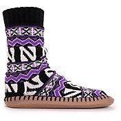 MUK LUKS Game Day Men's Northwestern Wildcats Slipper Socks