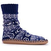 MUK LUKS Game Day Men's Penn State Nittany Lions Slipper Socks
