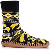 MUK LUKS Game Day Men's Iowa Hawkeyes Slipper Socks