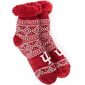 MUK LUKS Game Day Women's Indiana Hoosiers Cabin Socks