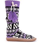 Muk Luks Northwestern Wildcats Slipper Socks