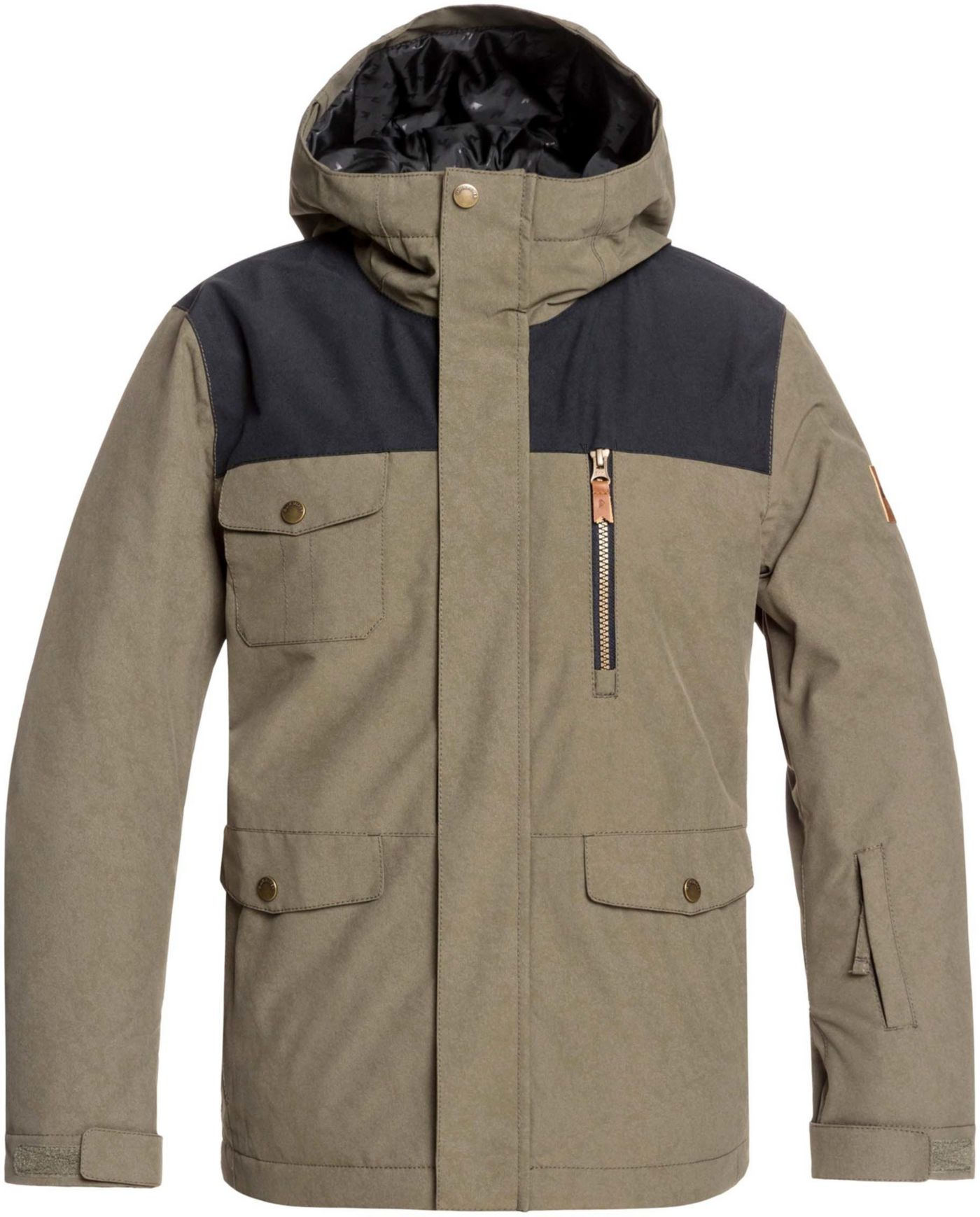 Quiksilver Boys' Raft Insulated Snow Jacket